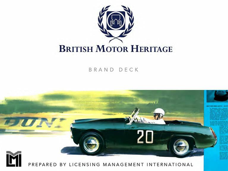 British Motor Heritage BRAND DECK LMI 2021