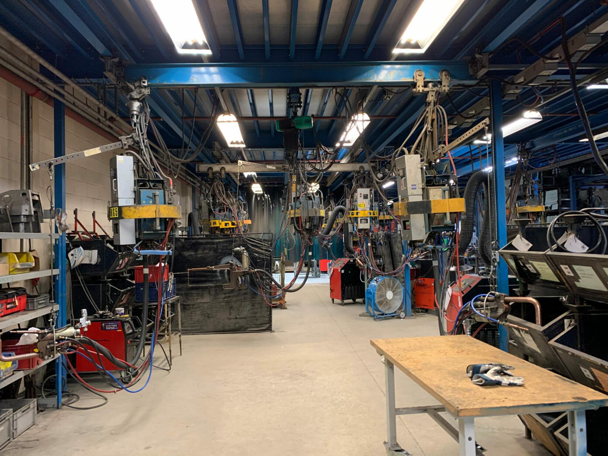 British Motor Heritage factory