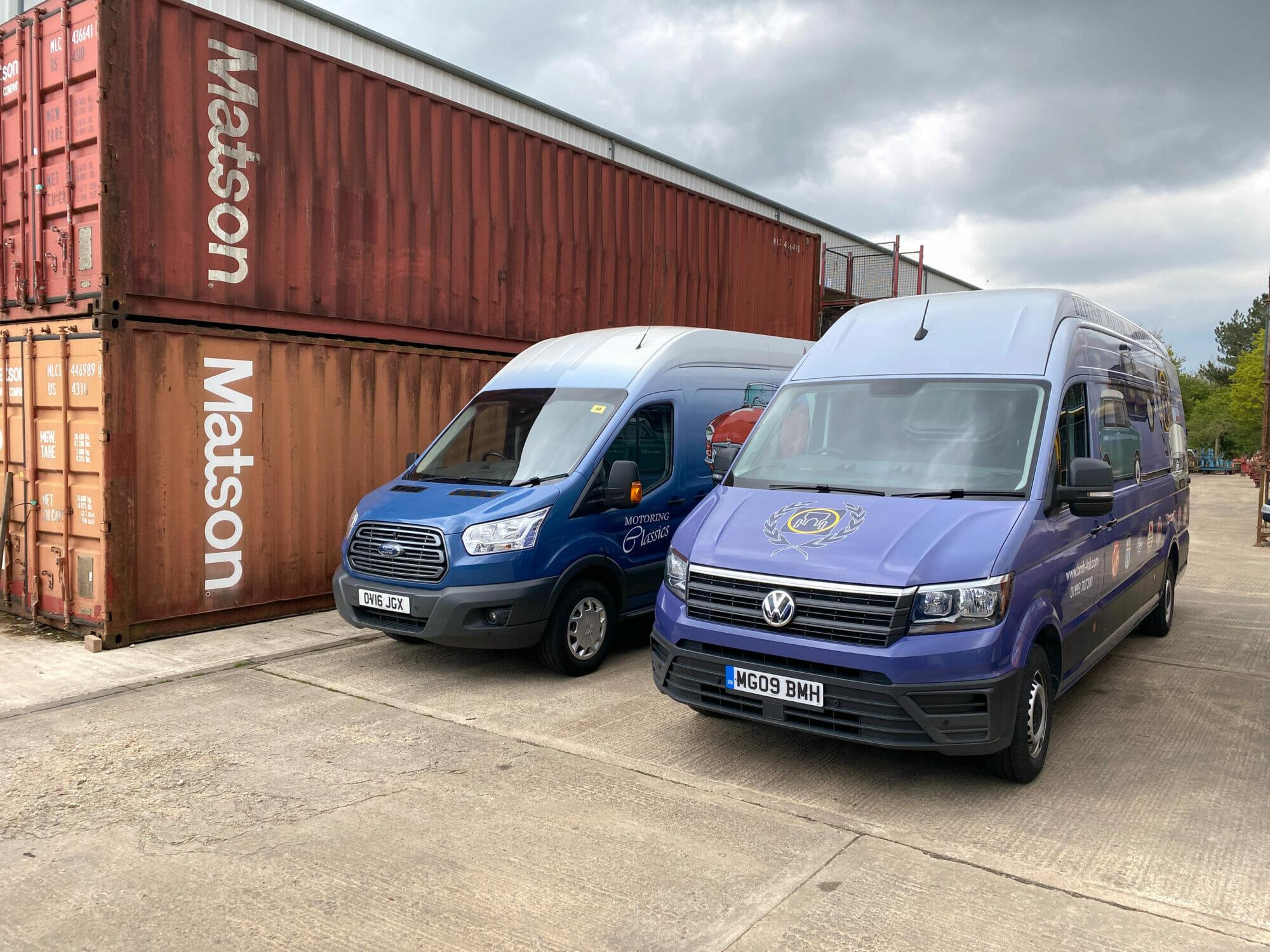 British Motor Heritage Vans