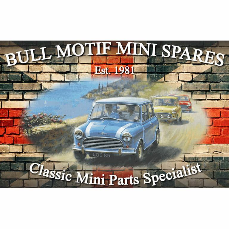 Bull Motif Mini Spares