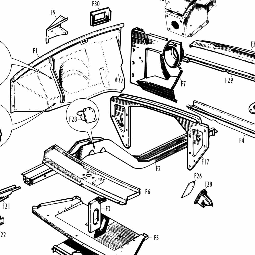MGB Front Body