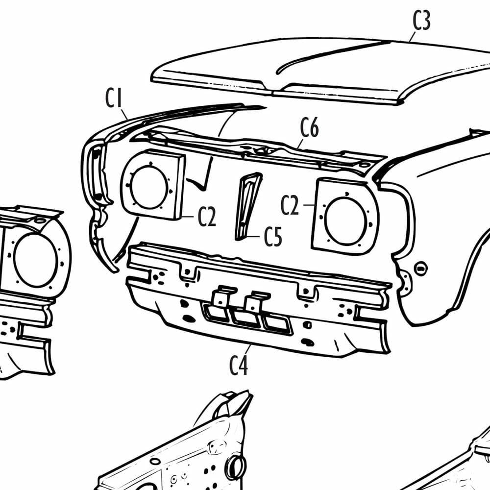Parts-Mini Clubman Specific