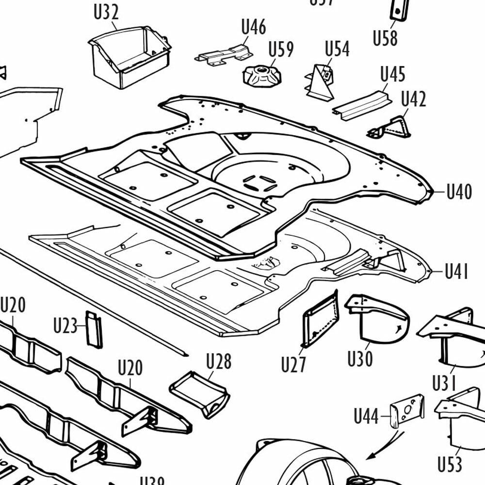 Parts-Mini Underframe