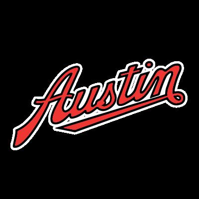 Brand Logo - Austin Mini White Frame