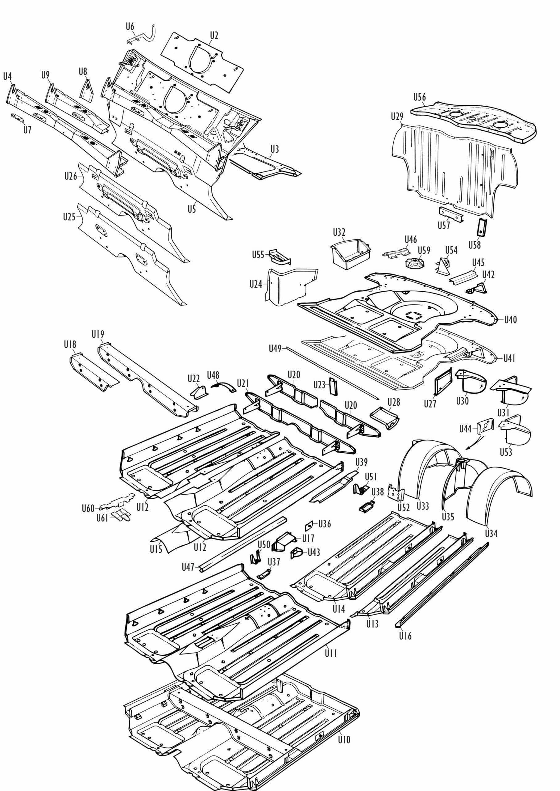 Mini Parts - Underframe