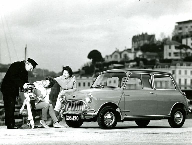 British Motor Heritage old mini adverts 1