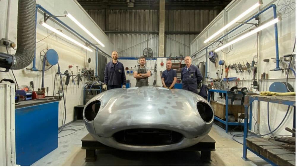 Jaguar E-Type 60th Birthday