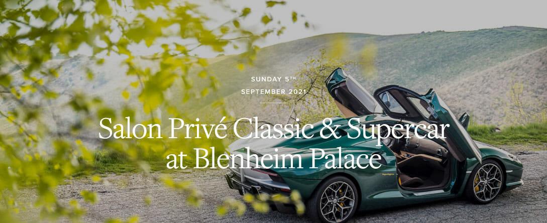 Salon Prive Classic Supercar Blenheim Palace